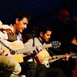 Ben Powell - Gypsy Jazz Night at the festival in 2018