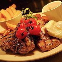 Our amazing aged steaks.
