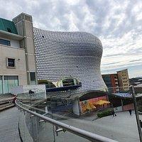 Great views of Bullring Shopping Centre