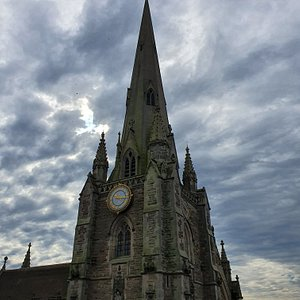 Great views of St Martin Church In The Bullring