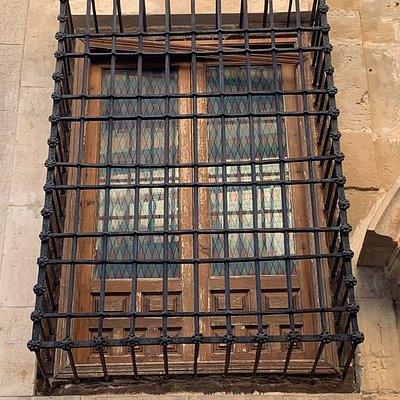 Casa Palacio de los Amoraga - Ventana enrejada