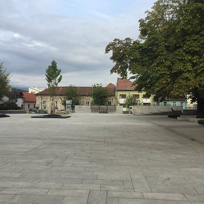 Another view of the square