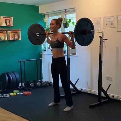 Studio personal training session Canterbury