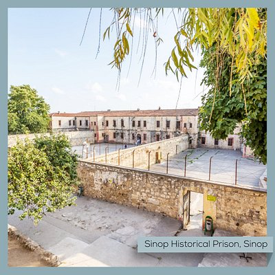 "The Historical Sinop Prison, once called the ""Alcatraz of Anatolia"", is an ancient fortress from the Hellenistic period. Many famous names were imprisoned here until it was converted to a fascinating museum in 1999.    #Turkey #Sinop #Historical #Prison #Museum #Alcatraz #Anatolia #MuseumFromHome"