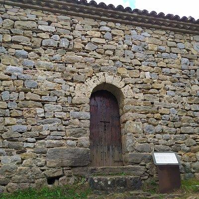 Sant Joan de l'Avellanet. Uno de los extremos de la Vía del Nicolau