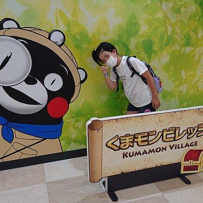 熊本の大スターのくまモンに会いに行って来ました。