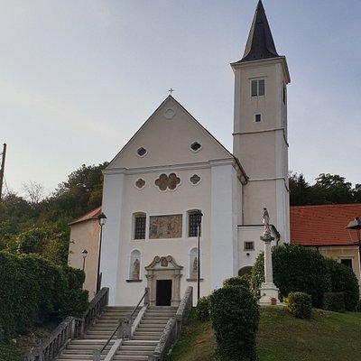 kościół św. Katarzyny z zewnątrz