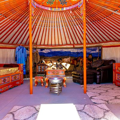 Get close with mother earth in these spiritual dwellings. Mongolian Gers are the traditional homes of the nomads of Mongolia and have a deep spiritual meaning. During your CannaCamels experience, you can get more connected with yourself and your surroundings than you ever thought possible.