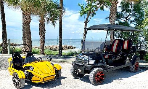 G6 Golf Cart and The Mamba
