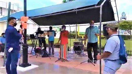 Walking Tour/Musical Concert at Battlefield Park in Belize City!