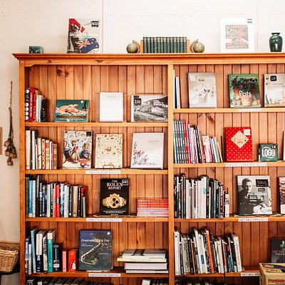 We always have new books on display. Come in to see our ever-evolving stock.