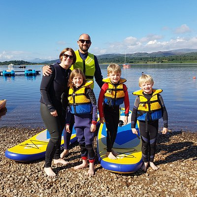 Great family days out here at Loch Insh Outdoor Centre