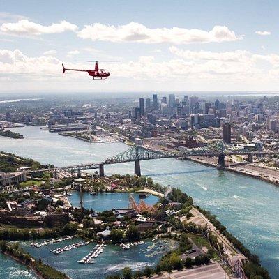 HELICRAFT - Jacques Cartier Bridge