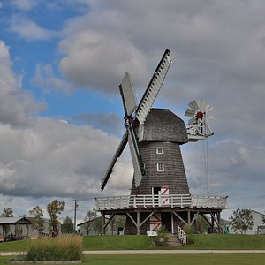 The iconic windmill is operational throughout the year.