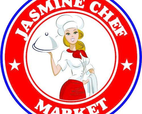 Logo jasmine chef market