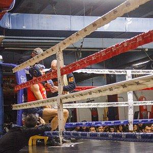 Campeonato de boxeo en Madrid
