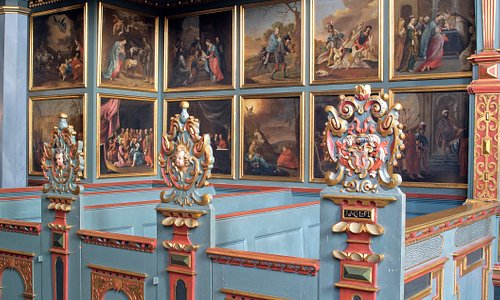 Interiør fra Klosterkirken