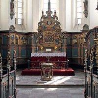 Gavnø Klosterkirke fra 1402 bygget af Dronning Margrete den 1.