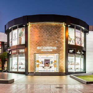 Founded in 1989, we own a chain of jewellery stores named Scorpio Jewellers and Diamonds International in the epicentre of Tenerife South.