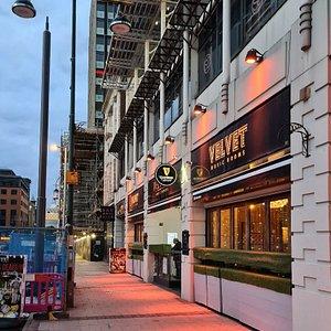 Velvet Music Room along Broad Street