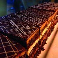 Night and Day Cake - Dark and White Chocolate Truffle Cake