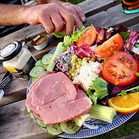 Probably the best ploughmans in the world, unfortunately off the menu at the moment due to CV19.
