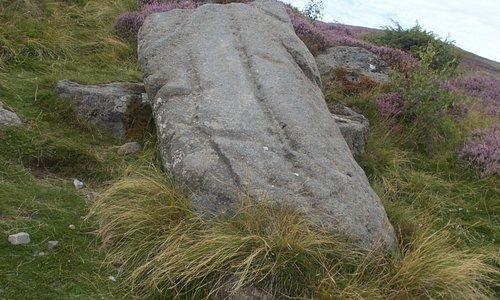 The Ringing Stone in Glen Gairn.