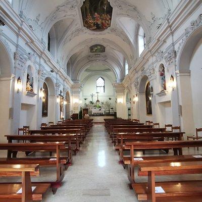 Santa Maria di Episcopio (interno)