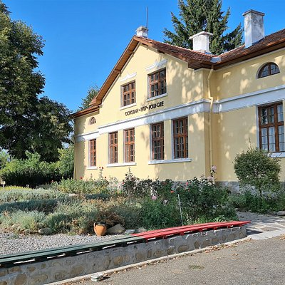 """The building of the Complex """"Museum of Essential Oils"""" in Kazanlak"""