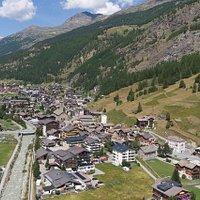 InfoCenter Hohsaas à Saas-Grund (canton du Valais - Suisse)