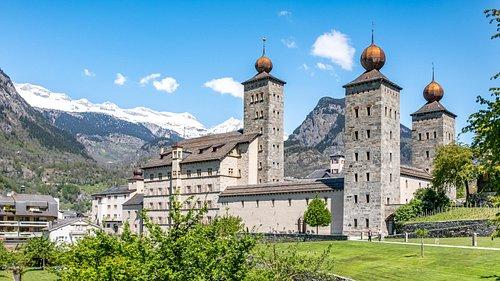 Brig Simplon Tourismus (canton du Valais- Suisse)