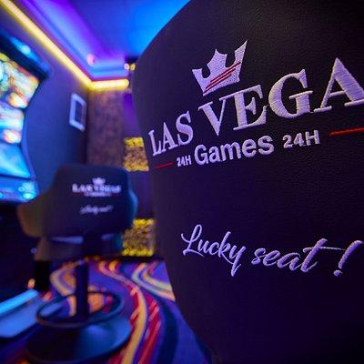 Sală de jocuri Las Vegas Games – Bucureşti, Şoseaua Alexandriei – gambling, casino, sloturi, păcănele, jocuri de noroc, ruletă, jackpot-uri, pariuri sportive, cafenea, bar, băuturi din partea casei, tombole, premii cash, distracţie şi multe surprize