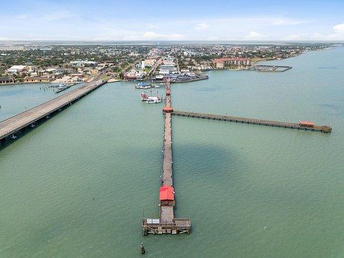Longest Fishing Pier in Texas!