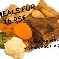 The meal for 2 available all day, every day