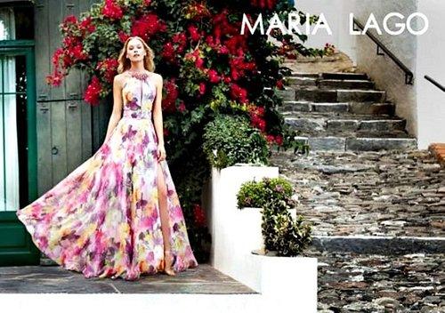 Vestido de la Firma Maria Lago en MenoCurves
