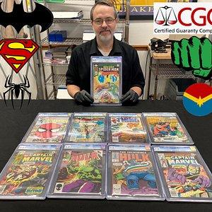 Vermillion Enterprises also BUYS CGC Graded Comic Books!