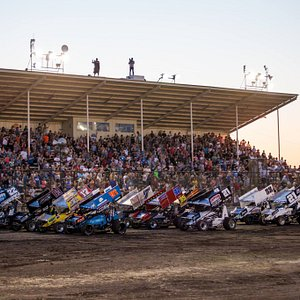 Gold Cup Race of Champions at the Silver Dollar Speedway