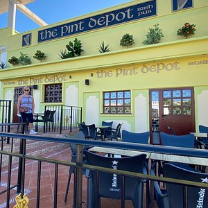 New look Pint Depot. We have just spent a few weeks in Spain and the attention to health, through constant attention to people wearing masks, self distancing and regular sanitising makes us feel safe. In addition the bar staff, service and beers are excellent. Great place to watch football.