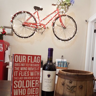 We love our wines—but we love our veterans more!