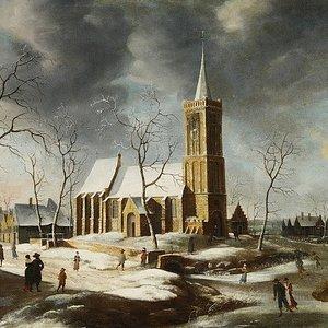 Kerk Wognum, schilderij 17e eeuw