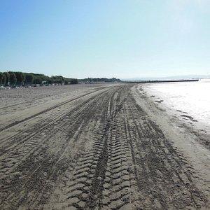La spiaggia a pagamento