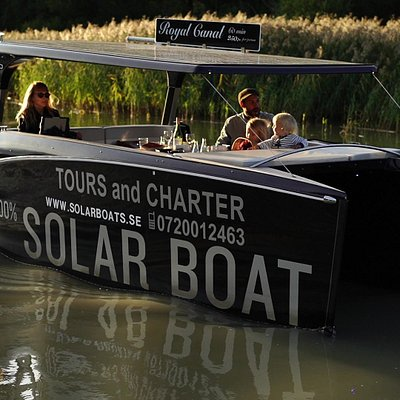 Quality time with Solar Boats Stockholm