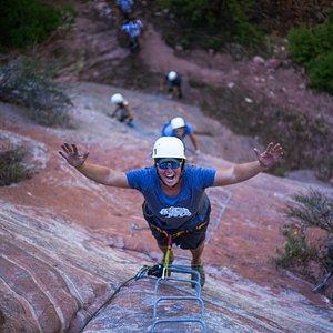 The last big climb