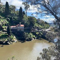 Walking from Cataract Gorge to Penny Royal
