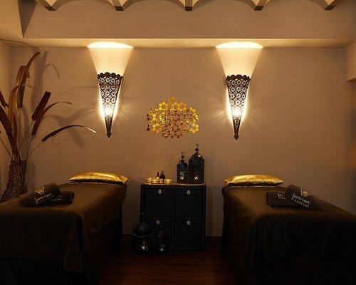 En nuestra sala podréis disfrutar juntos de vuestro masaje.