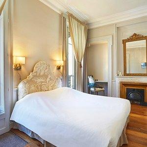 Vu détail chambre double privilège hotel vaubecour lyon printemps