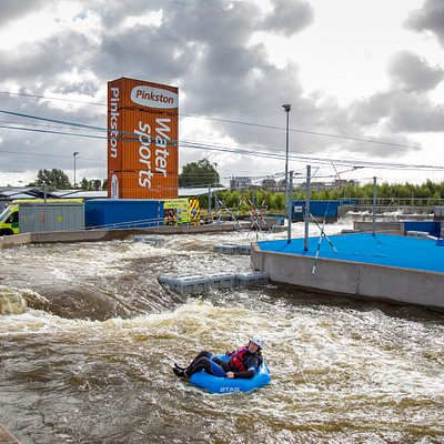 Whitewater tubing - can be booked directly on our website or contact info@pinkston.co.uk for bespoke options and community prices