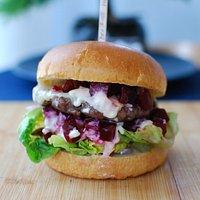Beetroot Angus Burger