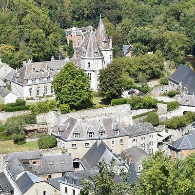 Het kasteel van Durbuy.