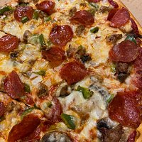 Thin crust Supreme!